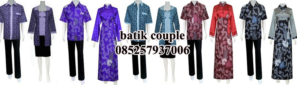 Baju Batik Couple  028aa57e39